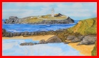 Godrevy Lighthouse - Watercolours